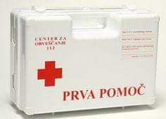 Prenosni kovček z vsebino za prvo pomoč