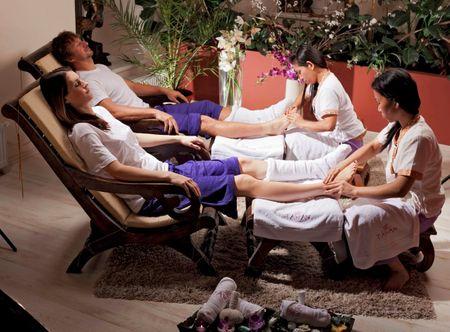 Poukaz Allegria - relaxační masáž nohou Karlovy Vary