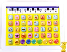 Mac Toys Baby Tablet bílý