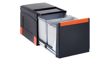 Franke sistem za ločevanje odpadkov Cube 41, ročni, 3 delni