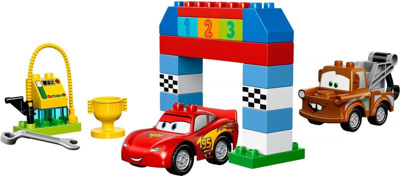 LEGO® DUPLO 10600 Disney Pixar Cars – Klasický závod