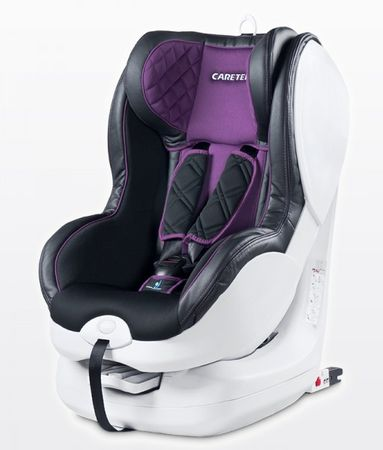 Caretero Fotelik Defender 9-18 kg KG ISOFIX, Purple