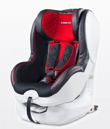 Caretero Fotelik Defender 9-18 kg KG ISOFIX, Red