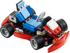 LEGO® CREATOR Crveni gokart