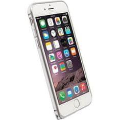 Krusell hliníkový rámeček SALA, Apple iPhone 6, stříbrný