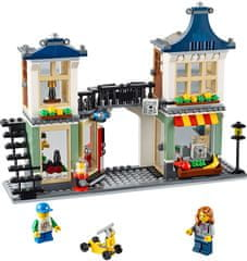 Lego CREATOR Trgovina z igračami in živili