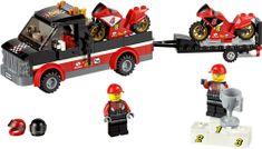 LEGO® City 60084 Versenymotor-szállító Kamion
