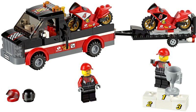 LEGO® City 60084 Přepravní kamión na závodní motorky