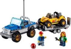 LEGO® City 60082 Terenówka z Przyczepką