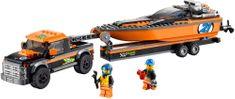 LEGO® CITY Terensko vozilo 4x4 s hitrim čolnom