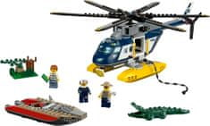 LEGO® City 60067 Zasledovanje s helikopterjem