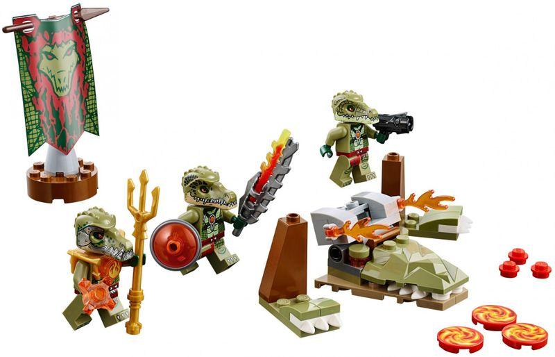 LEGO® Chima 70231 Smečka kmene Krokodýlů