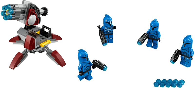 LEGO® Star Wars 75088 Senate Commando Troopers