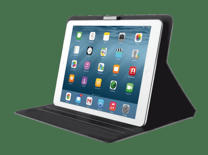 Trust Aeroo Ultrathin Folio Stand for iPad 2/3/4/Air/Air2 - černé (20295)