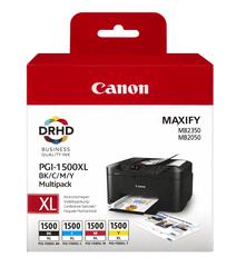Canon komplet kartuš PGI-1500XL MultiPack (B, C, M, Y)