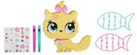 Littlest Pet Shop dekorativna mačka