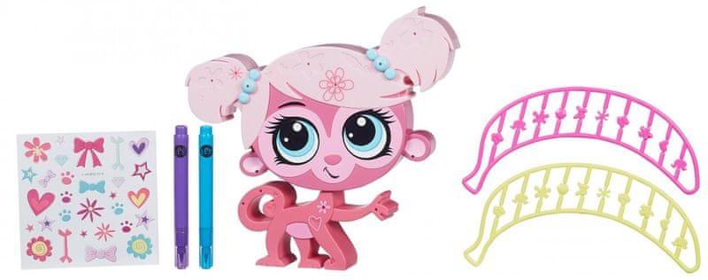 Littlest Pet Shop Dekorovací zvířátko Minka Mark