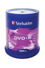 Verbatim DVD+R 4,7GB 16x spindle 100pck/BAL