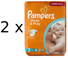Pampers Pampers pieluchy Sleep&Play 3 Jumbo Midi - 78 szt