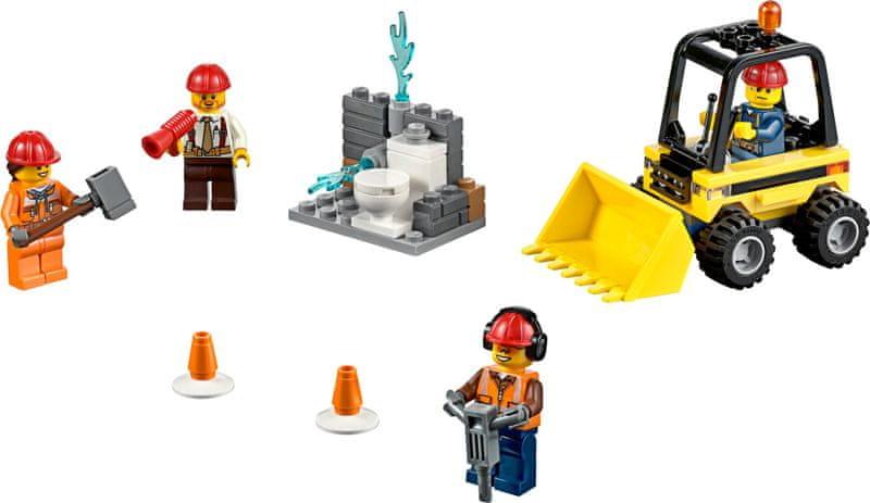 LEGO® City 60072 Demoliční práce – startovací sada