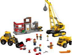 LEGO® City 60076 Rušenje na gradbišču