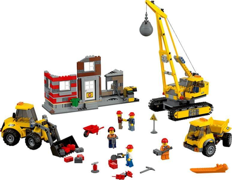 LEGO® City 60076 Demoliční práce na staveništi - II. jakost
