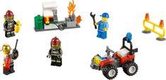 LEGO® City 60088 Strażacy- Zestaw Startowy