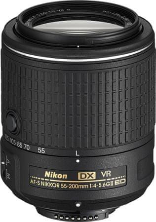 Nikon objektiv AF-S Nikkor 55–200 mm f/4-5.6G ED VR II