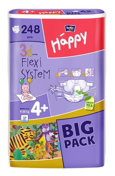 Bella Happy Maxi Plus Big Pack - 248 ks