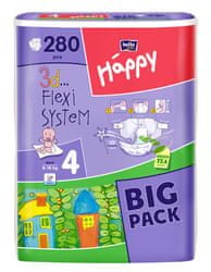 Bella Happy Pieluchy Maxi Big Pack - 280 szt. (210 + 70 szt.)