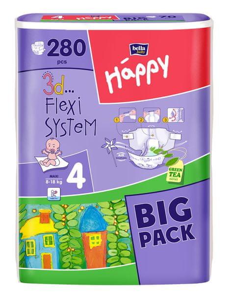 Bella Happy Maxi Big Pack - 280 ks