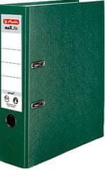 Herlitz registrator maX.file protect A4, 80 mm, zelen