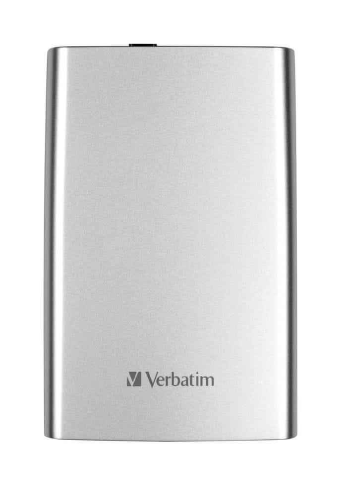Verbatim Store 'n' Go 1TB, stříbrná (53071)