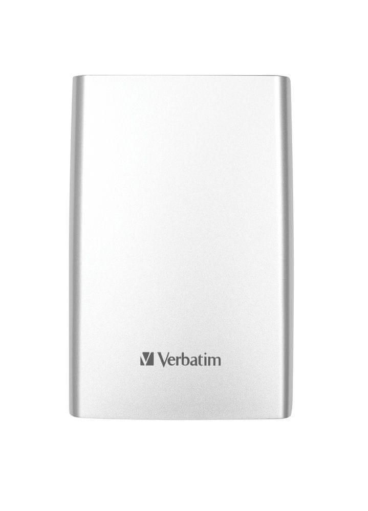 Verbatim Store 'n' Go 500GB, stříbrná (53021)