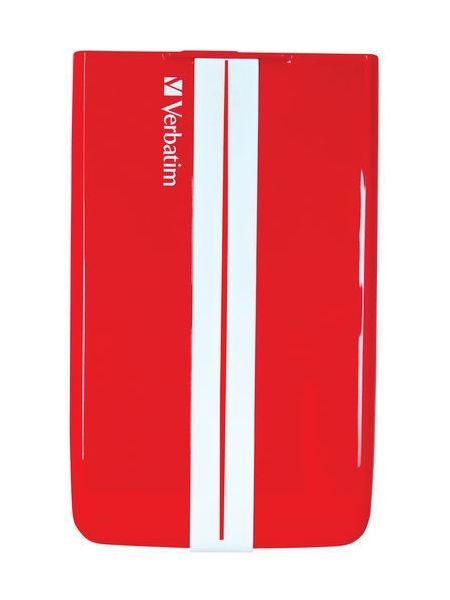 Verbatim GT SuperSpeed USB 3.0 500 GB červený (53084)
