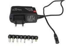Media-Tech uniwersalny zasilacz sieciowy MT6267 8 konektorów