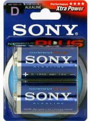 SONY baterie D 2 szt Stamina Plus (AM1B2D)