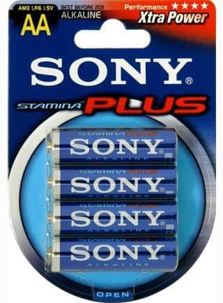 Sony baterija AM3-B4D LR06, tip AA 4/1