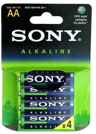 Sony alkalna baterija AM3-LB4D LR06, 4 kosi