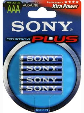 SONY AAA Stamina Plus Elem (AM4B4D) 4db