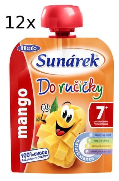 Sunárek Do ručičky mango 12 x 90g