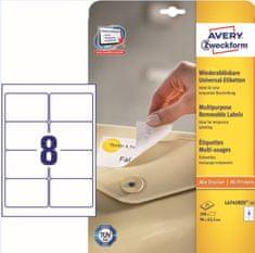 Avery Zweckform etikete L4745REV-25 99,1x42,3 mm, bijele