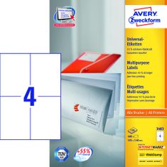 Avery Zweckform etikete 3483, 105x148 mm