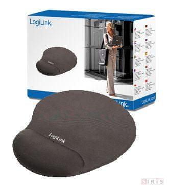 LogiLink podloga za miško z gelom MousePad ID0027,črna