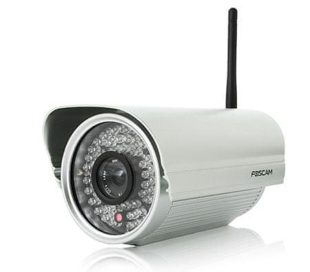 Foscam brezžična IP kamera FI9805W, 4mm