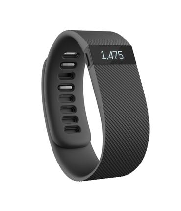Fitbit Charge Large, Černý - II. jakost