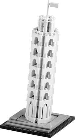 LEGO® Architecture 21015 Poševni stolp iz Pise