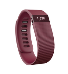 Fitbit Charge Large, vínový
