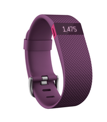 Fitbit Charge Large HR, fialová