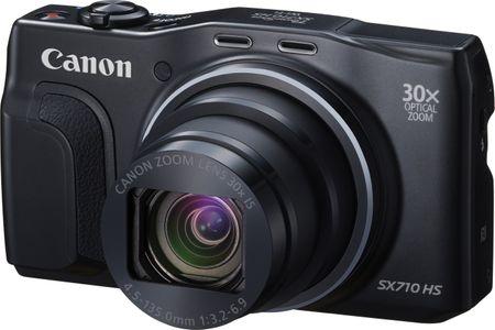 Canon fotoaparat PowerShot SX710 HS, crni